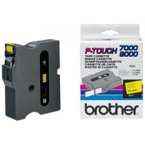 Banda Continua Laminata Etichete Brother TX641, 18mm x 15m