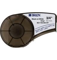 Banda Brady 19.05mm x 6.4m Alb M21-750-595-WT, 142797