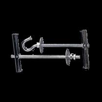 Fixari cu Clape+Arc pentru Placi M8x100 Dreapta