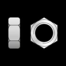 Piulita Hexagonala din 934 Otel gr.8 Zincat-M10 0934810S