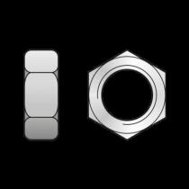 Piulita Hexagonala din 934 Otel gr.10-M30 0934930S