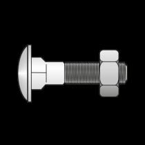 Surub Torbant Piulita 603 Otel Zincat-M8 X 45