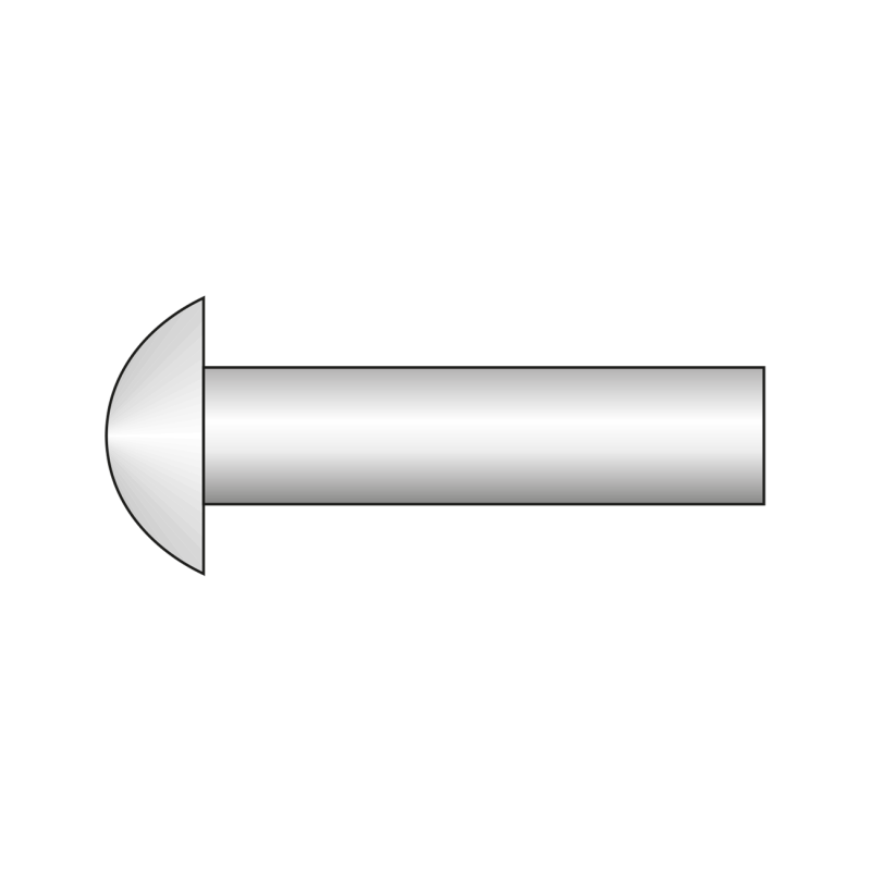 Nit Cap Semirotund 660 Cupru-2.5x 12