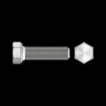 Surub Cap Hexagonal Total Filetat Pas Fin 961 Otel Gr.8.8-M12 X 1.5 X 20