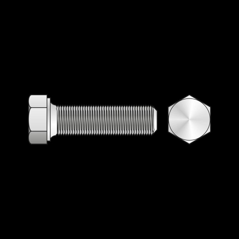 Surub Cap Hexagonal Total Filetat Pas Fin 961 Otel Gr.8.8-M18 X 1.5 X 30