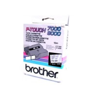 Banda Continua Laminata Etichete Brother TX141, 18mm x 15m