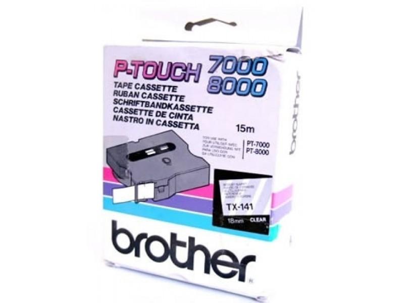 Banda Originala Brother Etichete TX141, 18mm x 15m