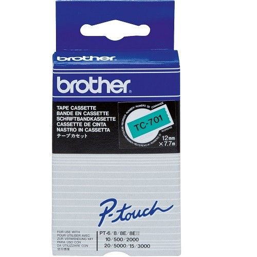 Banda Originala Brother Etichete TC701, 12mm x 5m