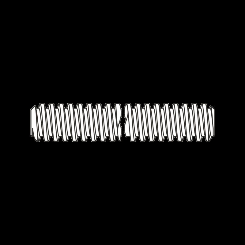 Tija Filetata Trapezoidal 1m 975 Otel-Tr30 X 6