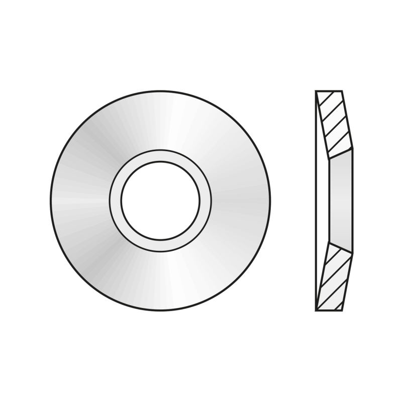Arc Disc 2093 Otel-16 X 8.2 X 0.9