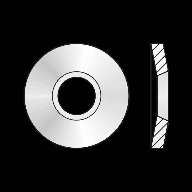Arc Disc 2093 Otel-50 X 25.4 X 1.25