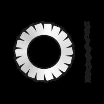 Saiba Elastica Crestaturi Exterioare Forma A 6798 Otel Zincat-22