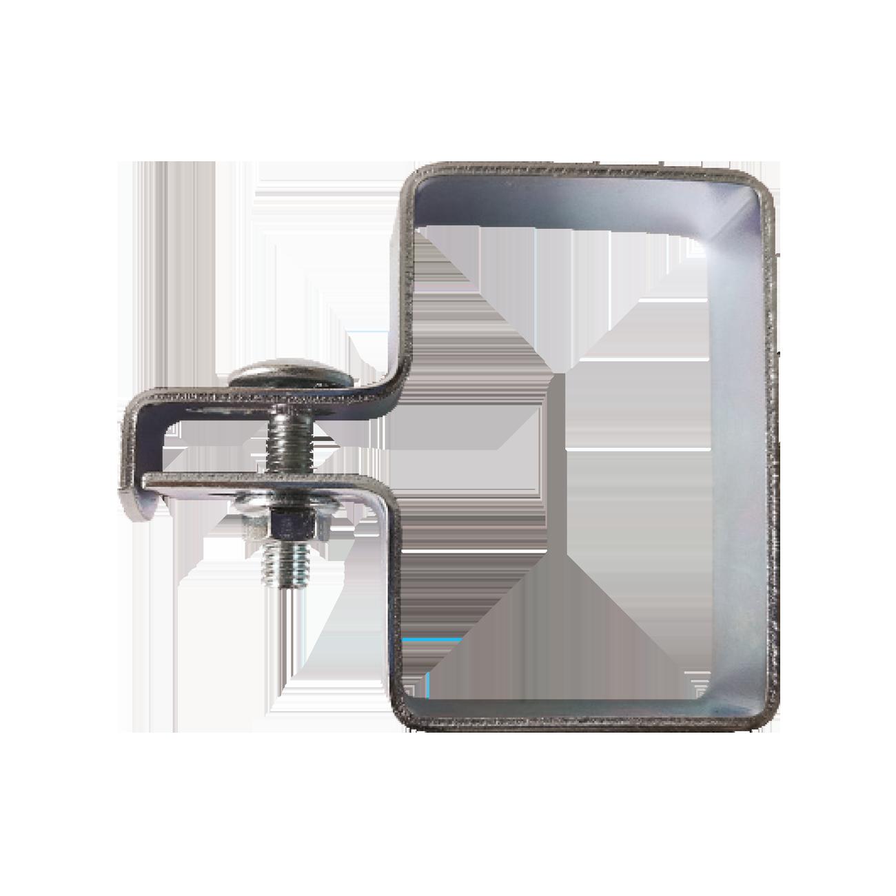 Brida Fixare Capat Pentru Stalpi Rectangulari Dimensiuni Stalp 60×40 Mm Acoperire Zincat Electrolitic