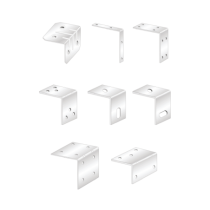 Coltare Vopsite Alb Electrostatic Tip 2 80x80x15x2 Mm Perforatii 4xr5.0