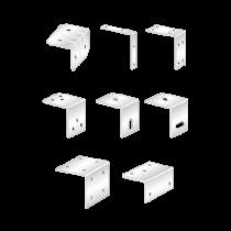 Coltare Vopsite Alb Electrostatic Tip 2 120x120x15x2 Mm Perforatii 6xr5.0