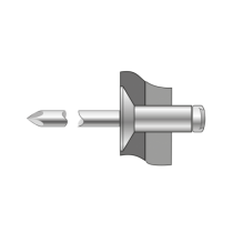 Pop-nituri Cap Tesit 120 Aluminiu/otel-5 X 30