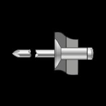 Pop-nituri Cap Tesit 120 Inox A2/inox A2-4 X 14