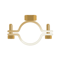 "Colier Usor-banda 20x1.5mm  Piulita M8-1 1/4""/ 39-44"