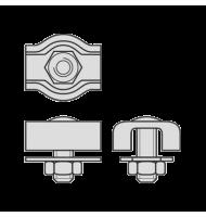 Cleme Simple Pentru Cabluri Metalice De Tractiune-2mm
