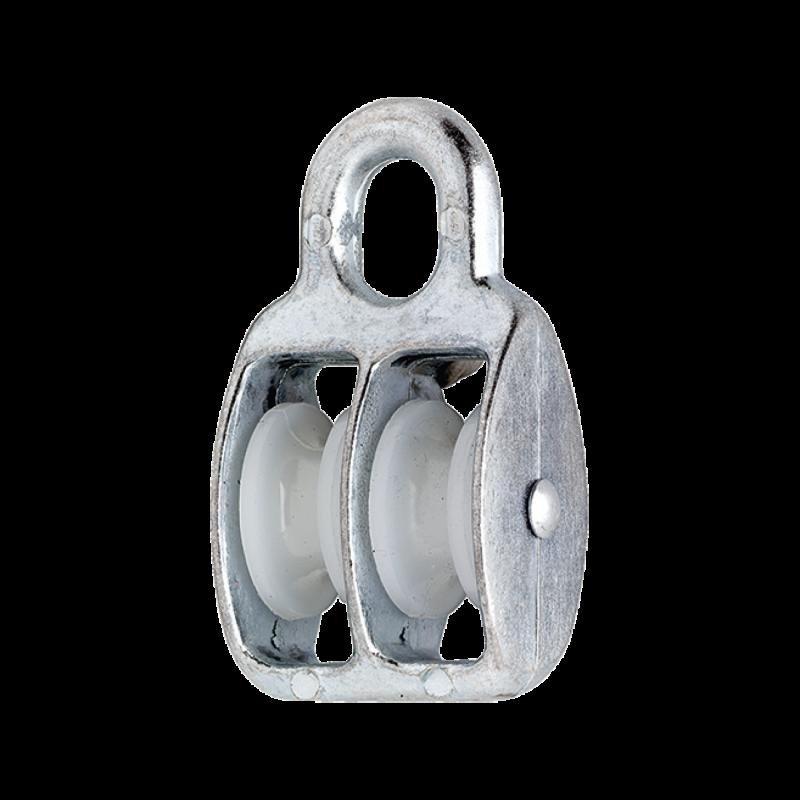 Rola Scripete Nylon 8x30x - Otel Zincat