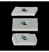Saiba Dreptunghiulara M 8 Indextrut-zincat