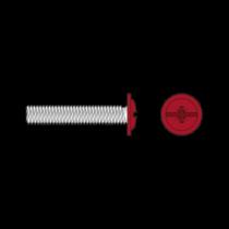 Surub Cap Bombat Saiba Otel Zincat-M4 X 20