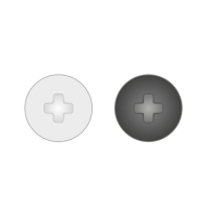 Capac Pentru Suruburi Pvc 70 Plastic-Negru