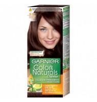 Vopsea de Par cu Amoniac Garnier Color Naturals 4.15  Ciocolata Amaruie