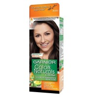 Vopsea de Par cu Amoniac Garnier Color Naturals 3  Saten Inchis