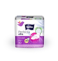 Absorbante Bella Perfecta Violet Deo x 10