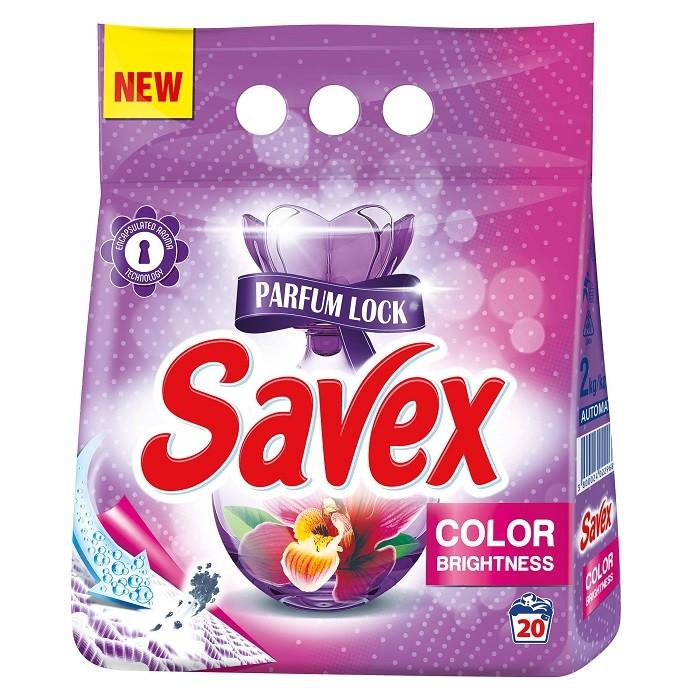 Detergent Automat Savex 2 Kg, Color Care