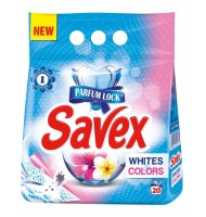 Detergent Automat Savex 2 Kg, White&Colors