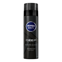 Nivea Spuma Ras Deep Black 200ml