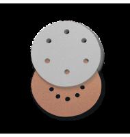 Disc din Hartie Abraziva, pentru Glet / Vopsea Lavabila / Lemn, Tip 2, R 225, 10 Perforatii, Gr. 60