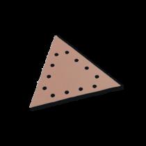Triunghi Abraziv, pentru Glet / Vopsea Lavabila / Lemn, Gvl Flex, L 290, Gr. 120