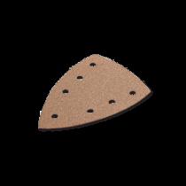 Triunghi din Hartie Abraziva pentru Glet / Vopsea / Lemn, Selectflex Delta, 100 X 150, 7 Perforatii, Gr. 320