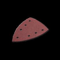 Triunghi din Hartie Abraziva Lemn / Metal, Purflex Delta, 100 X 150, 7 Perforatii, Gr. 40