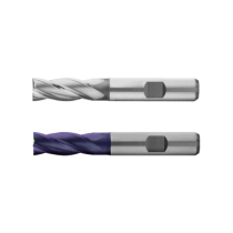Freza HSS-E Co8, Tip N, din 844k, Scurta, 4 Taisuri, HSS-E , R 5 / 6, L 13 / 57