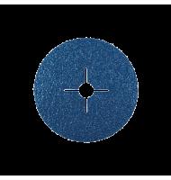 Disc Abraziv pe Suport de Fibra Vulcanizata pentru Inox / Otel, Kfz, 125 X 22.23, Gr. 36