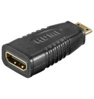 Adaptor HDMI A Mama - Mini HDMI Tata Contacte Auri