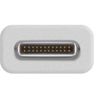 Adaptor USB C   Micro USB B 2.0 Alb