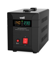 Stabilizator Automat de Tensiune Agile 1000VA/700W Well
