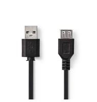 Cablu Prelungire USB 1.1 USB A Tata - USB A Mama 1.8m Well