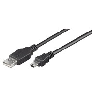 Cablu USB Tata- MiniUSB 1.5m Goobay