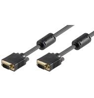 Cablu Monitor Full Hd Svga 2m Goobay
