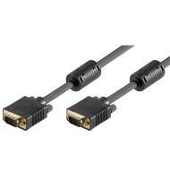 Cablu Monitor Full Hd Svga 10m Goobay