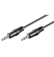 Cablu Audio Jack Stereo 3.5mm - 3.5mm Tata 2.5m