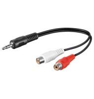 Cablu Audio 0,2 M 3,5 mm...