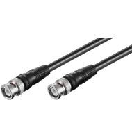 Cablu Bnc - Bnc 1.0m Negru...