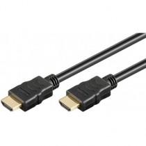 Cablu HDMI2.0 cu Ethernet 19p Tata - HDMI 19p Tata Aurit Ofc 1.5m, Well